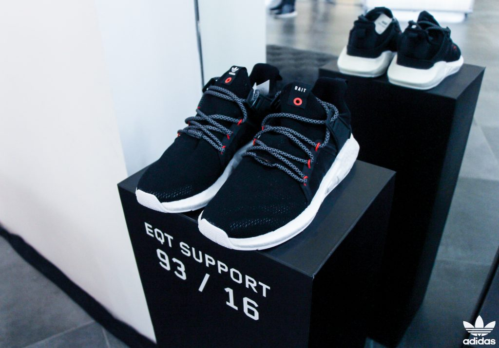 Music and Art at the Adidas EQT Creator Space with P-Lo & Noodles